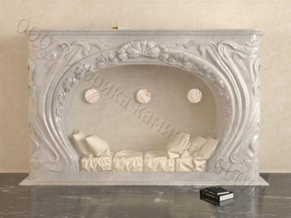 Имитация камина (фальш камин) из камня Генри, каталог каминов, изображение, фото 2