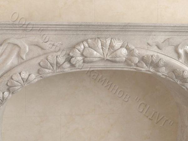 Имитация камина (фальш камин) из камня Генри, каталог каминов, изображение, фото 3