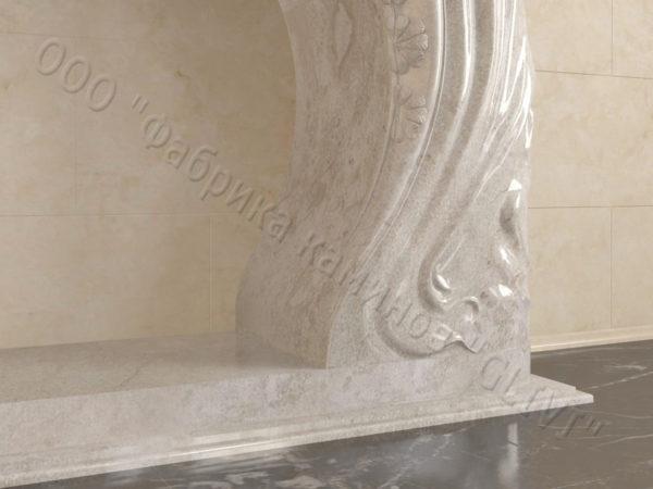 Имитация камина (фальш камин) из камня Генри, каталог каминов, изображение, фото 5