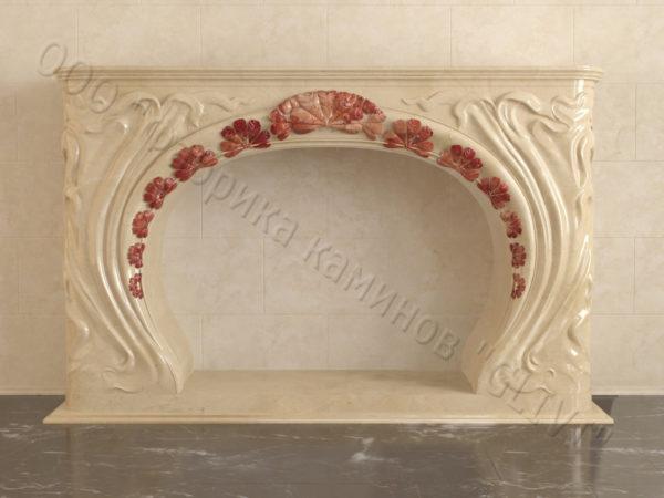 Имитация камина (фальш камин) из камня Генри, каталог каминов, изображение, фото 6