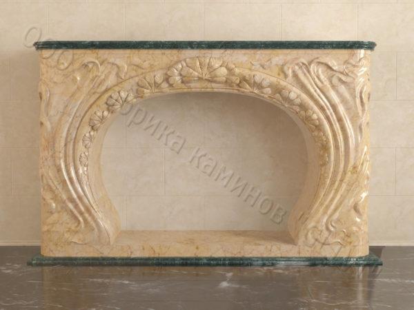 Имитация камина (фальш камин) из камня Генри, каталог каминов, изображение, фото 8