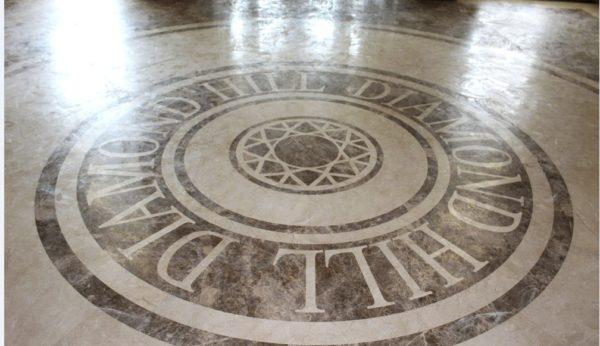 Мозаичный пол из натурального мрамора Гесиона, интернет-магазин полов, изображение, фото 1