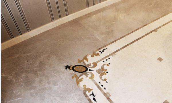 Мозаичный пол из натурального мрамора Гесиона, интернет-магазин полов, изображение, фото 3