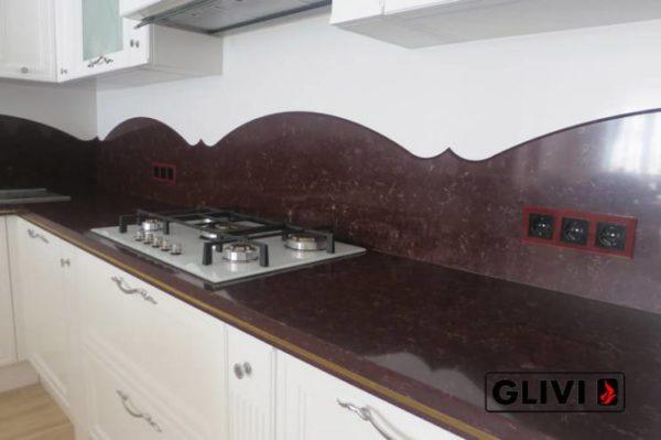 Столешница из искусственного (кварцевого) камня Глейз, изготовить на заказ, изображение, фото 4