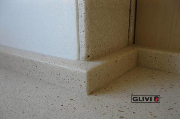 Столешница из искусственного (кварцевого) камня Глостер, изготовить на заказ, изображение, фото 3
