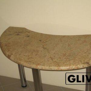 Стол из натурального камня (гранита) Голден, интернет-магазин столов, изображение, фото 1