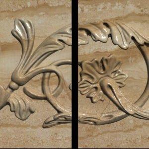 Плитка из натурального мрамора Хионодокс, изображение, фото 1