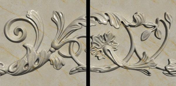 Плитка из натурального мрамора Хионодокс, изображение, фото 2