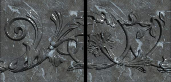 Плитка из натурального мрамора Хионодокс, изображение, фото 3
