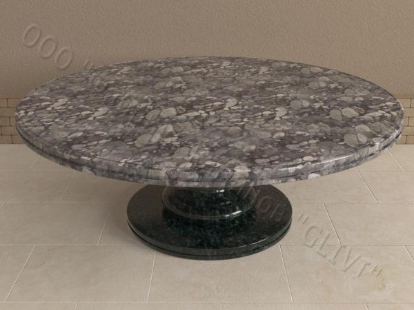Стол из натурального камня (гранита) Иден, интернет-магазин столов, изображение, фото 4