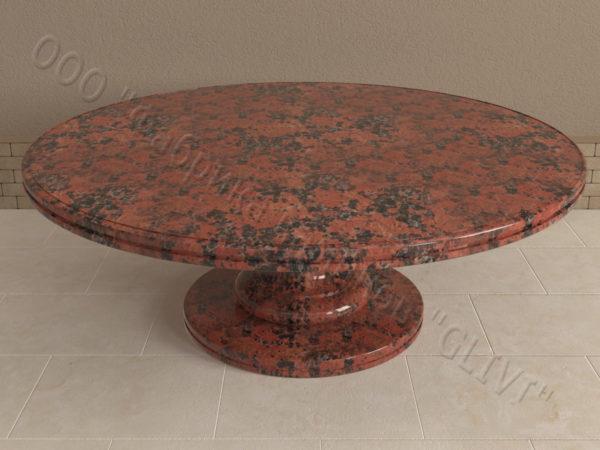 Стол из натурального камня (гранита) Иден, интернет-магазин столов, изображение, фото 5