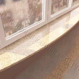 Барная стойка для бара и балкона из натурального камня Идра, изображение, фото 1