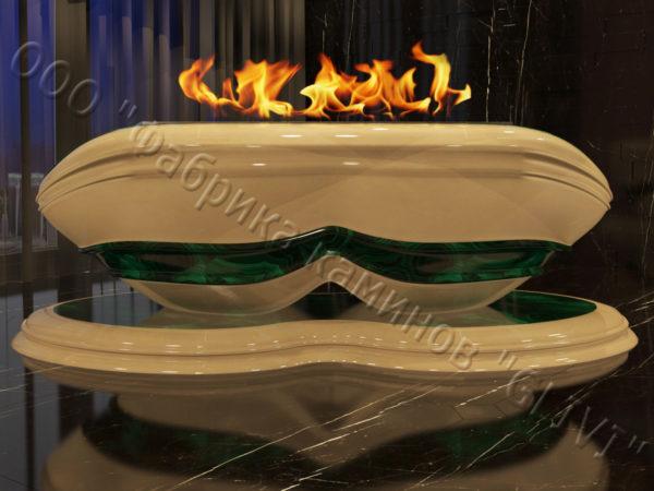 Напольный каминный портал (облицовка) для биокамина Имперо, каталог (интернет-магазин) каминов, изображение, фото 3