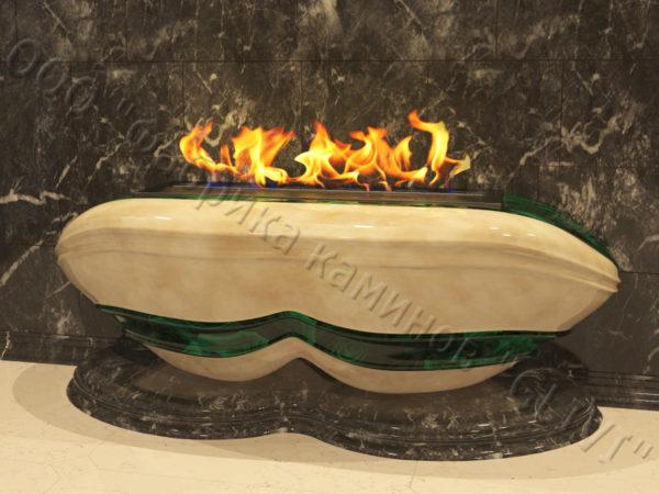 Напольный каминный портал (облицовка) для биокамина Имперо, каталог (интернет-магазин) каминов, изображение, фото 6