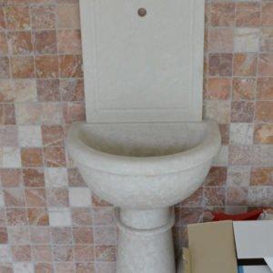 Мраморная раковина (умывальник) Ирис, каталог раковин из камня, изображение, фото 1