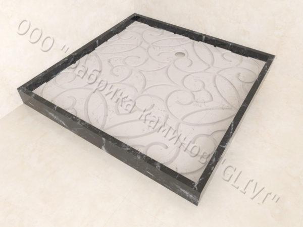 Поддон для душа Джина мраморный, каталог душевых поддонов из камня, изображение, фото 4