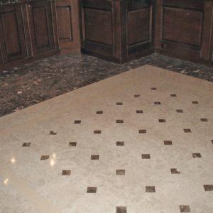 Мозаичный пол из натурального мрамора Каллироя, интернет-магазин полов, изображение, фото 1