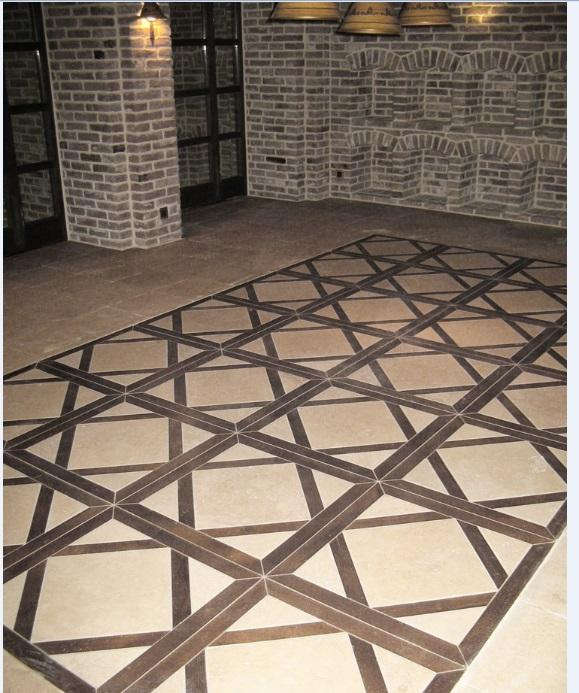 Мозаичный пол из натурального мрамора Каллироя, интернет-магазин полов, изображение, фото 2