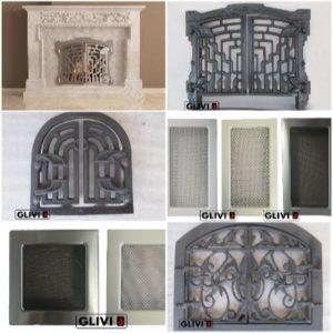 Мраморные камины (порталы)