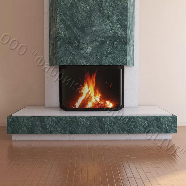 Мраморный каминный портал (облицовка) Канон, каталог (интернет-магазин) каминов из мрамора, изображение, фото 2