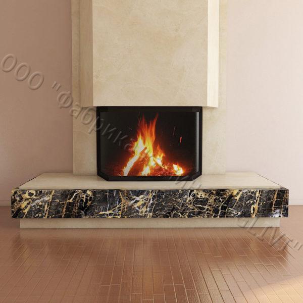 Мраморный каминный портал (облицовка) Канон, каталог (интернет-магазин) каминов из мрамора, изображение, фото 6