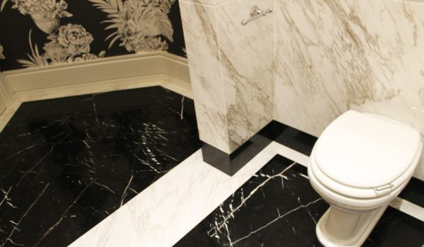 Мозаичный пол из натурального мрамора Климена, интернет-магазин полов, изображение, фото 1