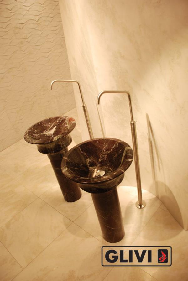 Мраморная раковина (умывальник) Клио, каталог раковин из камня, изображение, фото 1