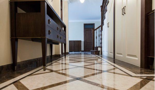 Мозаичный пол из натурального мрамора Клития, интернет-магазин полов, изображение, фото 4