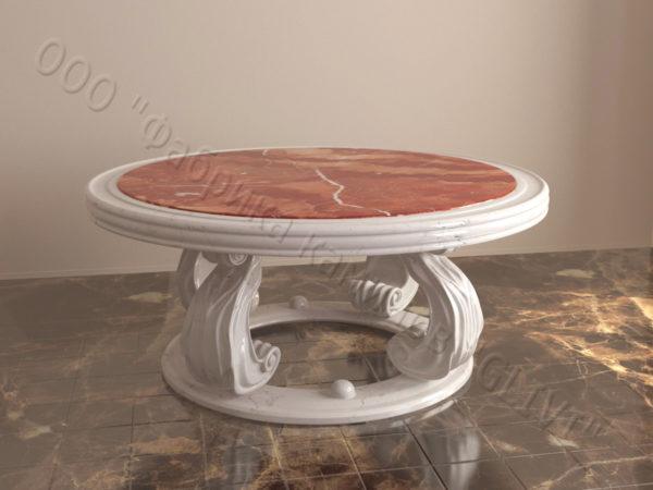 Стол из мрамора Клот