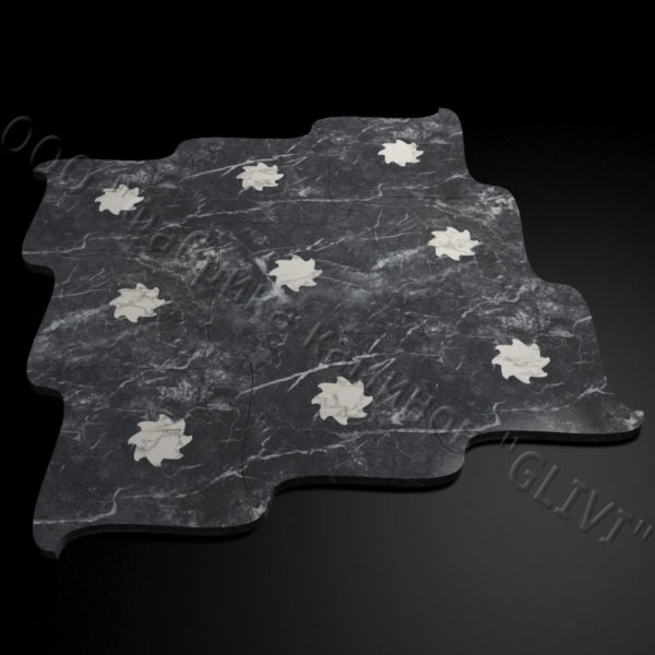Плитка из натурального мрамора Коло, изображение, фото 2