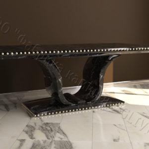 Стол из натурального камня (мрамора) Крыл, интернет-магазин столов, изображение, фото 1