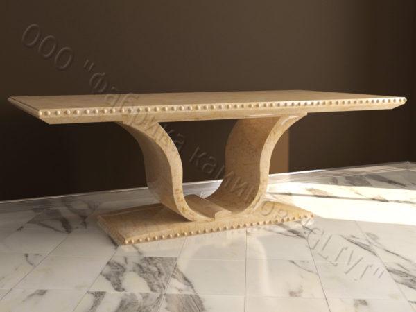 Стол из натурального камня (мрамора) Крыл, интернет-магазин столов, изображение, фото 5