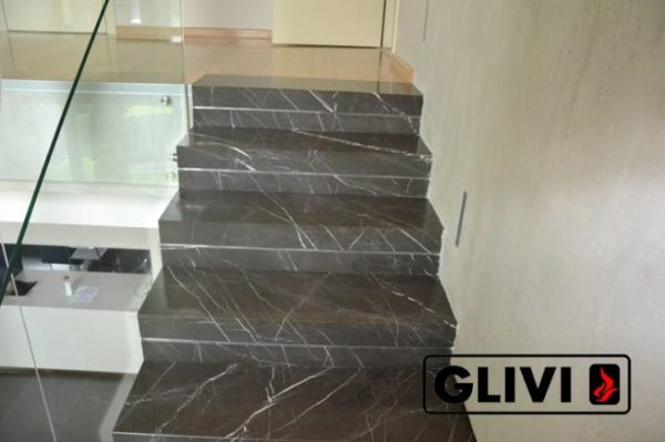 Лестница из натурального мрамора Ида, интернет-магазин лестниц, изображение, фото 3