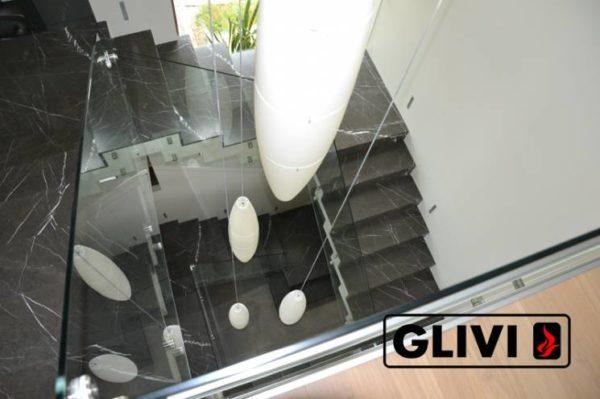 Лестница из натурального мрамора Ида, интернет-магазин лестниц, изображение, фото 5