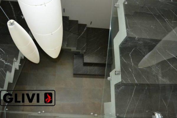 Лестница из натурального мрамора Ида, интернет-магазин лестниц, изображение, фото 7