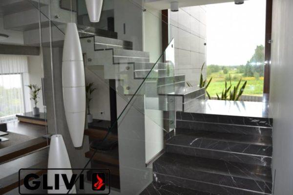 Лестница из натурального мрамора Ида, интернет-магазин лестниц, изображение, фото 8