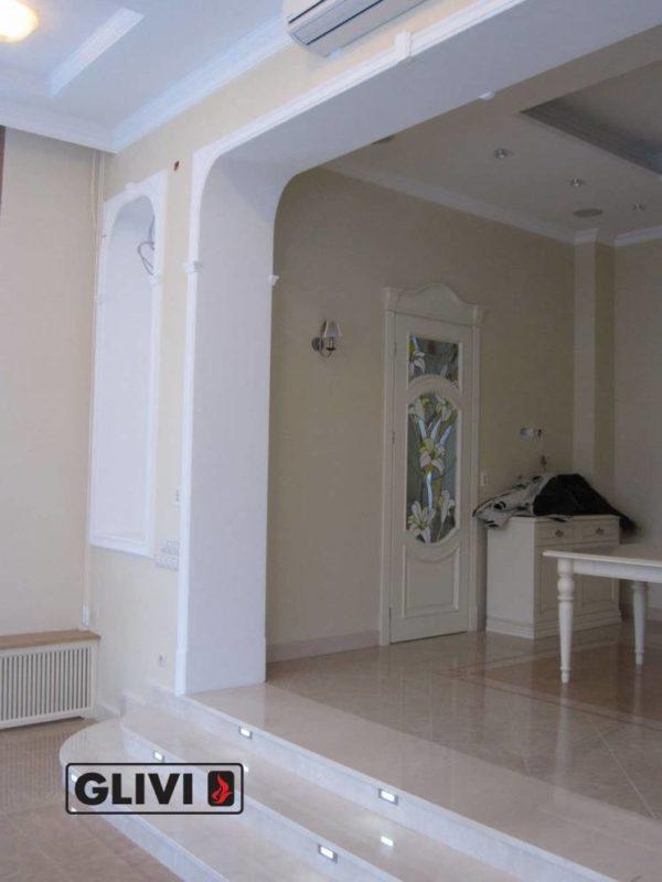 Лестница из натурального мрамора Одри, интернет-магазин лестниц, изображение, фото 1