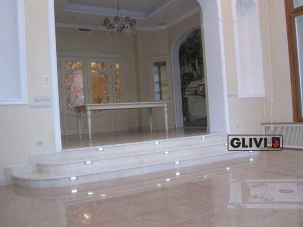 Лестница из натурального мрамора Одри, интернет-магазин лестниц, изображение, фото 2