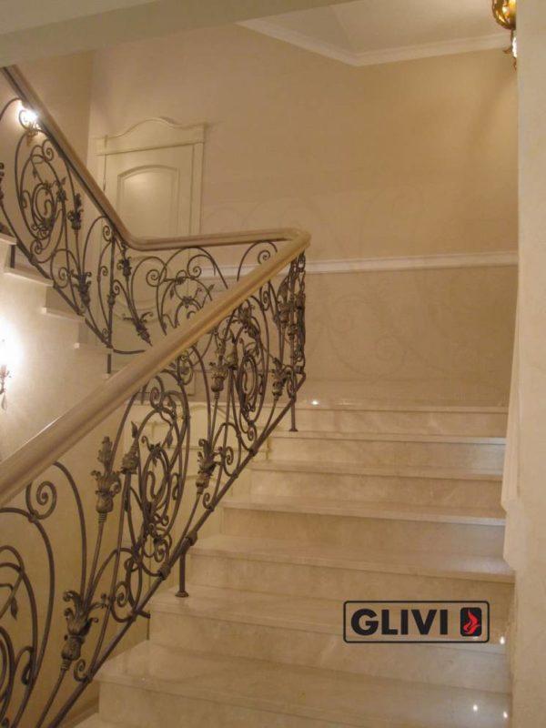Лестница из натурального мрамора Реджина, интернет-магазин лестниц, изображение, фото 2