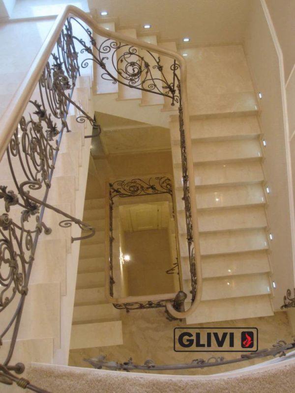 Лестница из натурального мрамора Реджина, интернет-магазин лестниц, изображение, фото 4