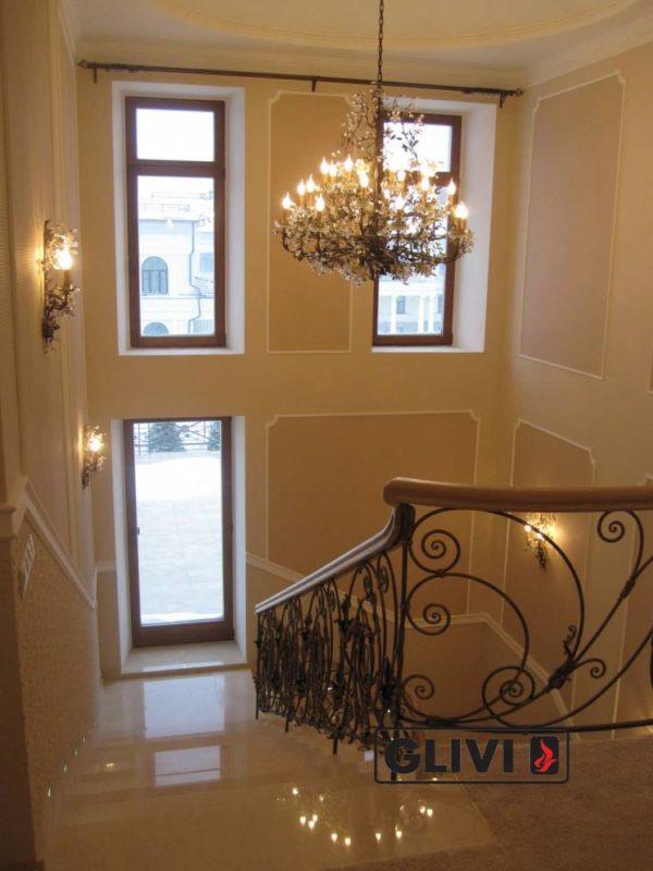 Лестница из натурального мрамора Реджина, интернет-магазин лестниц, изображение, фото 5