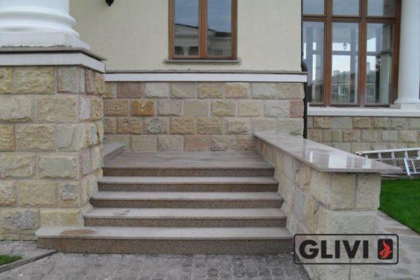 Гранитная лестница Сандра, каталог лестниц из камня, изображение, фото 4