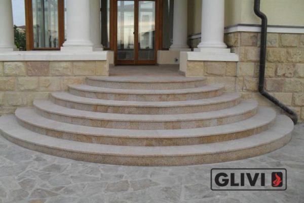 Гранитная лестница Сандра, каталог лестниц из камня, изображение, фото 5