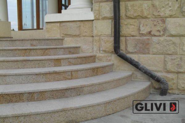 Гранитная лестница Сандра, каталог лестниц из камня, изображение, фото 6