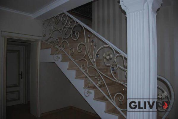 Лестница из натурального мрамора Рози, интернет-магазин лестниц, изображение, фото 2