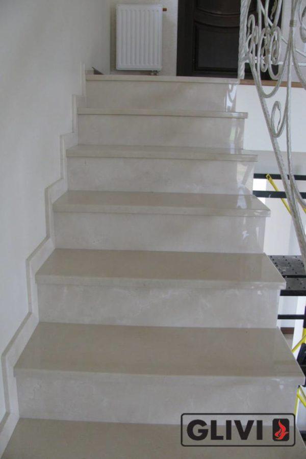 Лестница из мрамора Ева, каталог лестниц из камня, изображение, фото 2