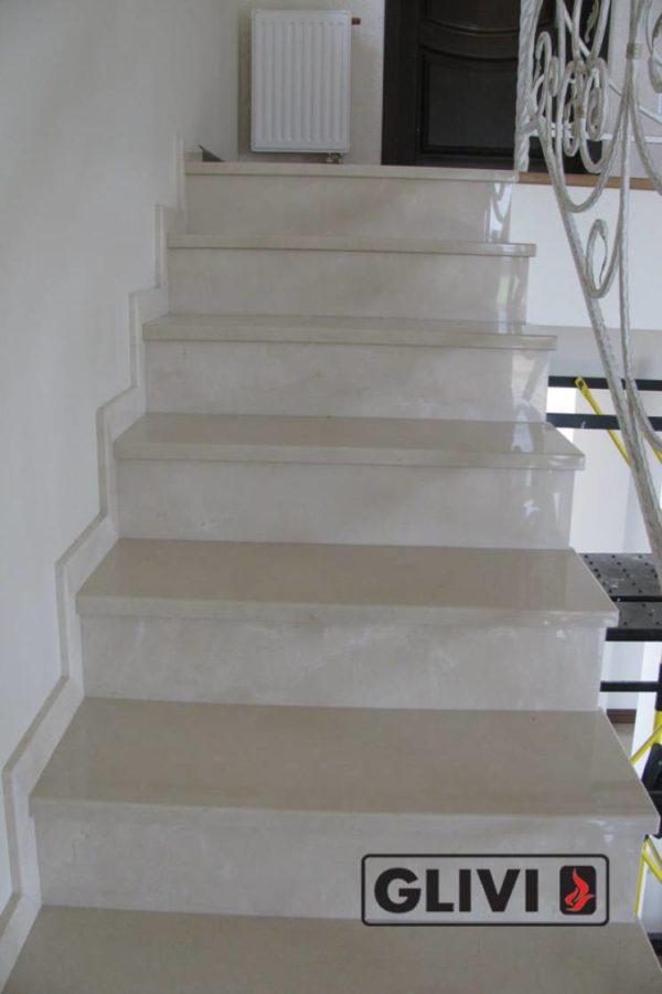 Лестница из мрамора Ева, каталог лестниц из камня, изображение, фото 5