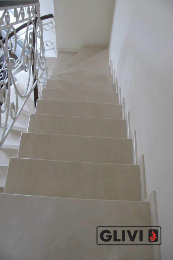 Лестница из мрамора Ева, каталог лестниц из камня, изображение, фото 6