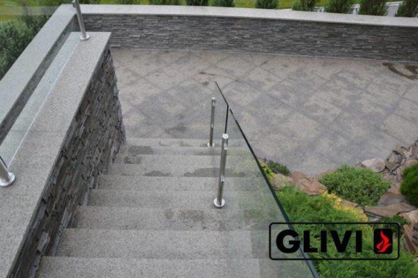 Гранитная лестница Дениз, каталог лестниц из камня, изображение, фото 4