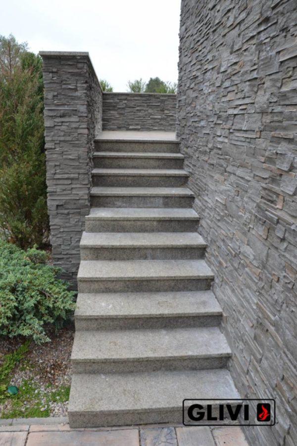 Гранитная лестница Дениз, каталог лестниц из камня, изображение, фото 6